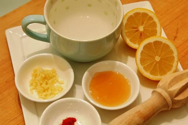 лимон и мёд от бронхита