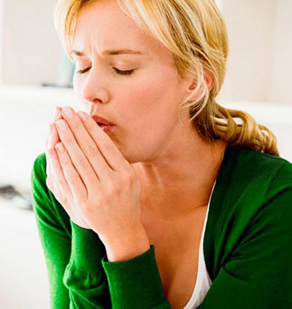 кашель с мокротой у женщины