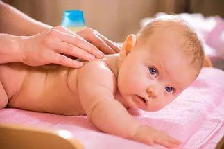 массаж при мокроте у грудничка