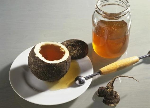 Как сделать черную редьку с медом